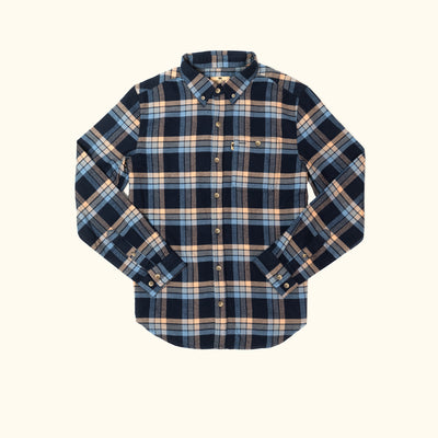 Fairbanks Flannel | Blue Horse
