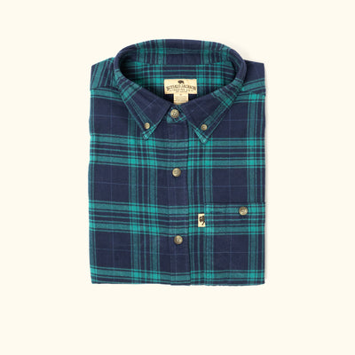 Fairbanks Men's Flannel Shirt - Crater Lake