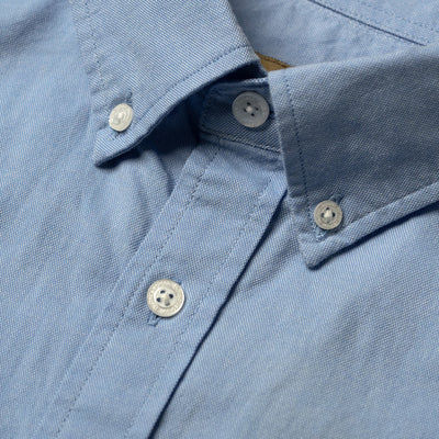 Galveston Short Sleeve Oxford Shirt | Light Blue