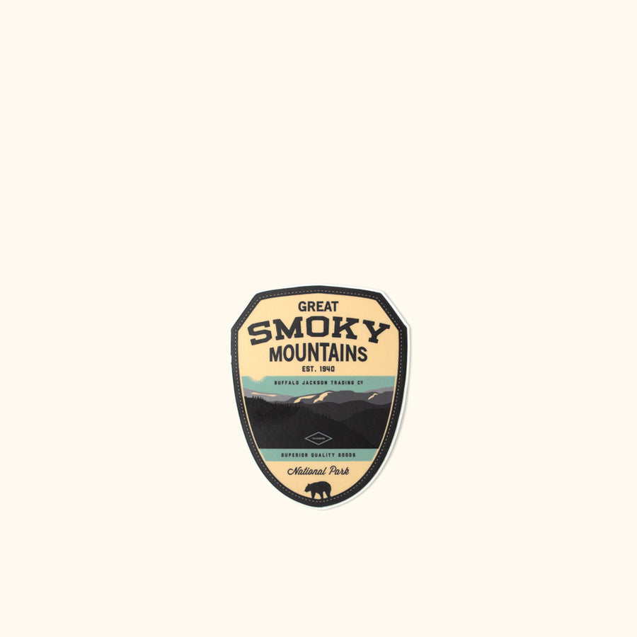 Great Smoky Mountain National Park Sticker
