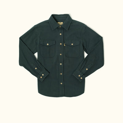 Gunner Cotton Twill Jac shirt - Deep Lake