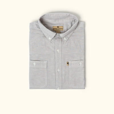 Harbor Chambray Shirt - Augustine Grey