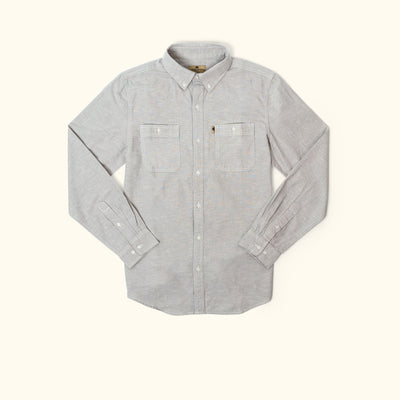 Harbor Chambray Shirt - Augustine Grey hover