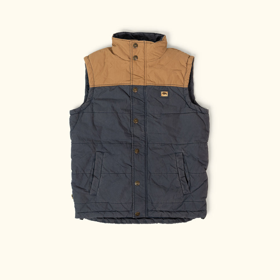 Hudson Vest - Navy and Khaki