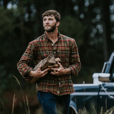 Huntsman Plaid Fairbanks Flannel Shirt