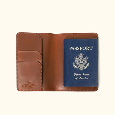 Jefferson Passport Wallet | Elderwood