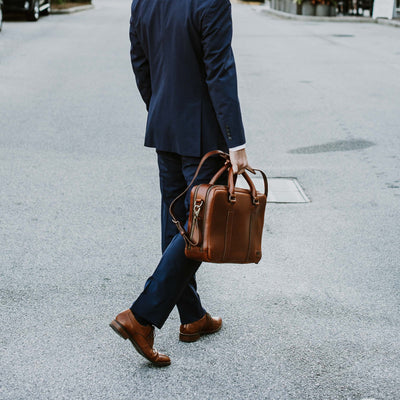 Men's Leather Briefcase | Elderwood