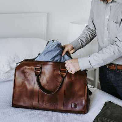 Men's Best Leather Duffle | Elderwood