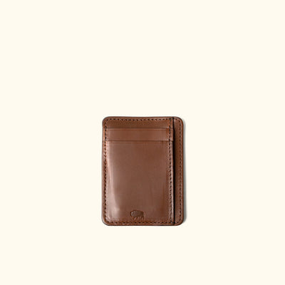 Men's Modern Leather Slim ID Wallet | Elderwood front