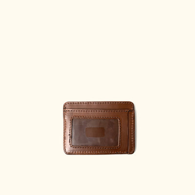 Men's Vintage Slim ID Wallet | Elderwood back