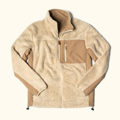 Kodiak Fleece Jacket | Grizzly Tan