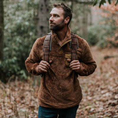 Soft Grizzly Brown Kodiak Pullover hover