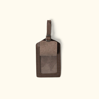 Leather Travel Luggage Tag