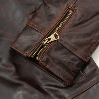 Men's Rugged Leather jacket