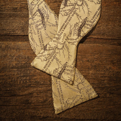 Lewis and Clark - Map Bow Tie