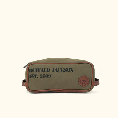 Limited Edition 10-Year Dopp Kit | Olive