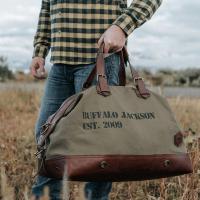 Limited Edition 10-Year Weekend Bag | Green hover