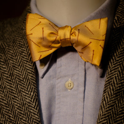 Long Rifle Bow Tie - Sunrise Yellow