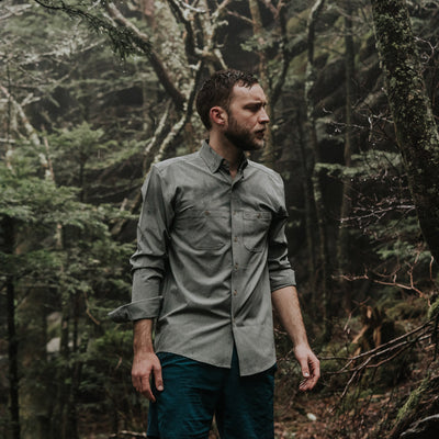 MacLean Long Sleeve Guide Shirt | Green hover
