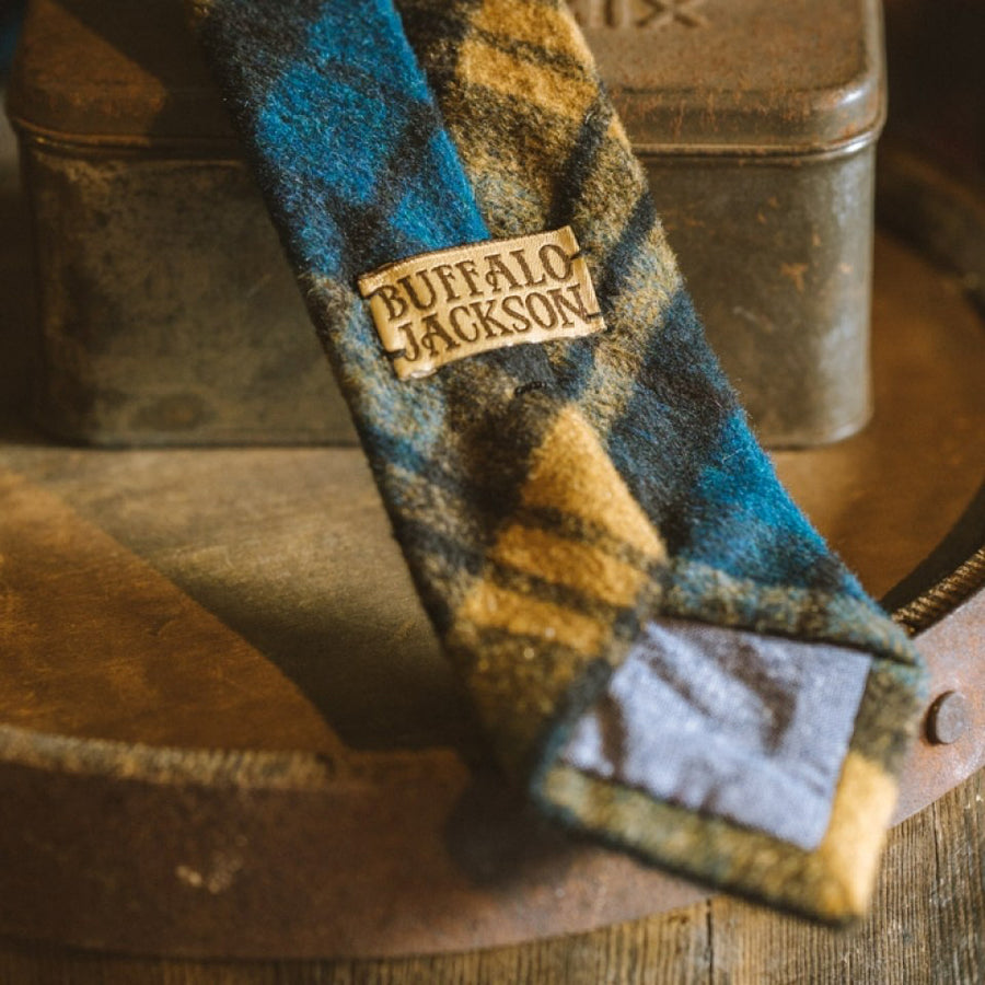 True Plaid Wool Necktie | Classic