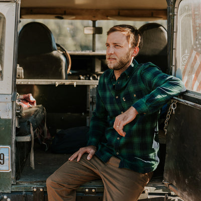 Men's Vintage fall flannel shirt