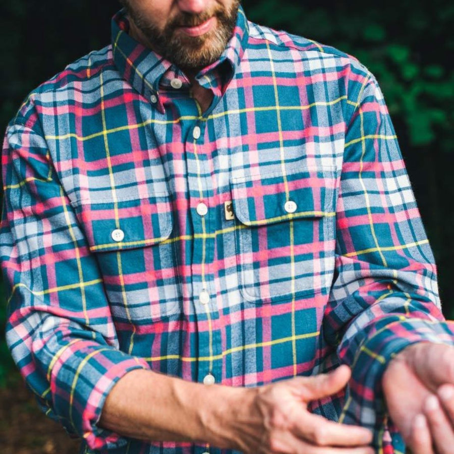 Winter Creek Plaid - Flannel Shirt