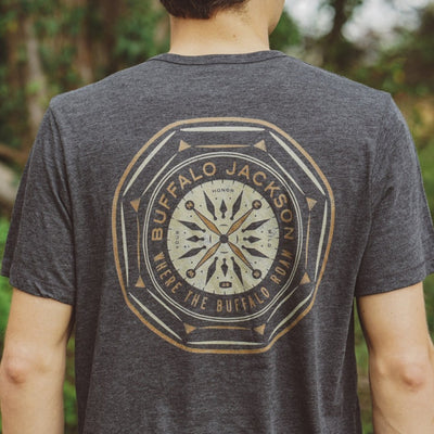 Buffalo Jackson Compass Back Graphic Tee hover