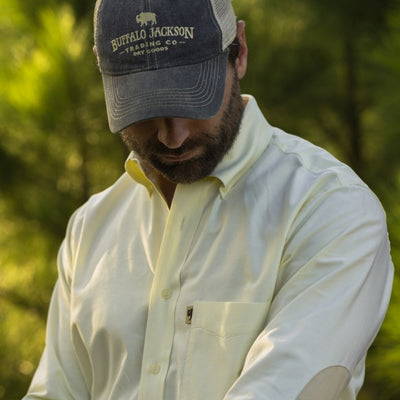 Montana Oxford Dress Shirt - Yellow