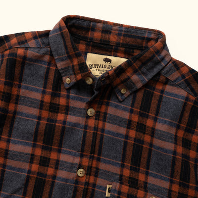 Men's Classic western flannel for fall