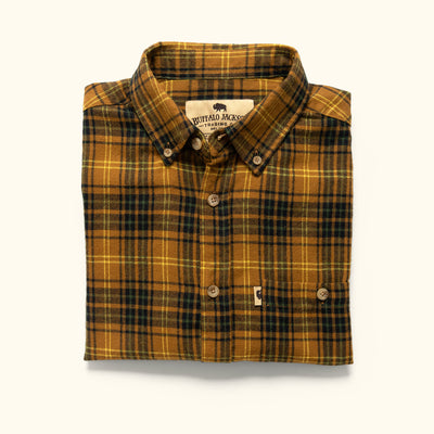 Men's Rugged Flannel Button down shirt