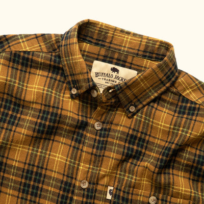 Men's Vintage Flannel Gold Rush