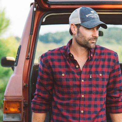 Men's Waxhaw Buffalo Plaid Flannel - Pipestone
