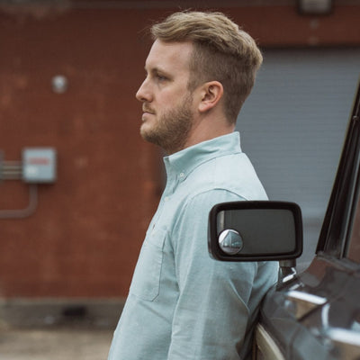 Harbor Chambray Shirt - Beaufort Green