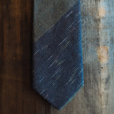 Vintage Stripe Cotton Necktie