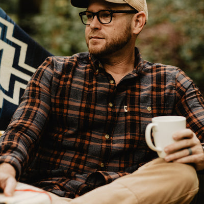 Rugged Fall Flannel Shirt hover