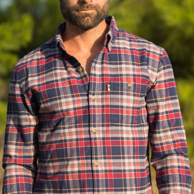 Fairbanks Men's Flannel Shirt - Bunker Hill