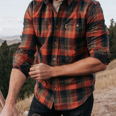 mens best outdoor fall flannel