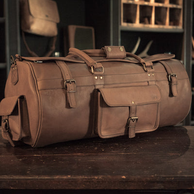 Men's Roosevelt Large Travel Duffle Bag - Water Buffalo