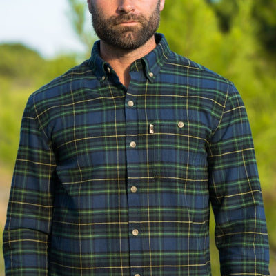 Fairbanks Men's Flannel Shirt - Deep Creek