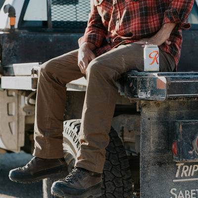 Men's Tough rugged work pants hover