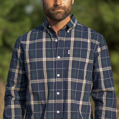 Heritage Button Down Shirt - Forest Edge