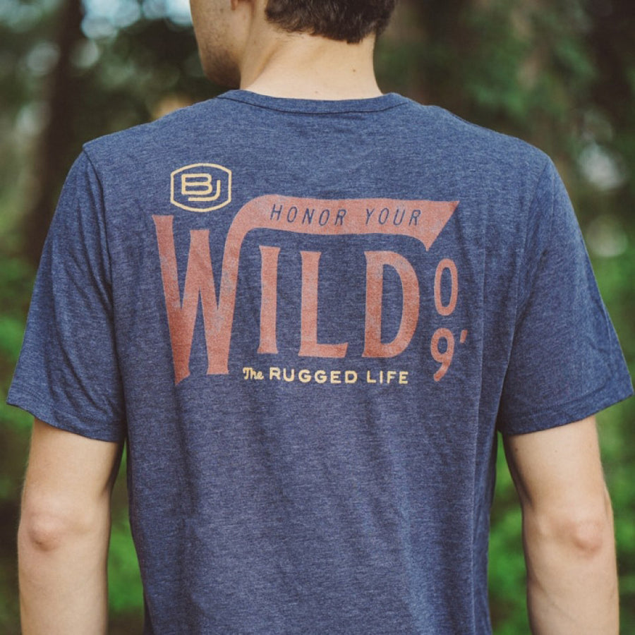 Honor Your Wild '09 Graphic Tee | Navy