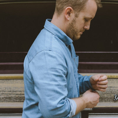 Wyoming Denim Shirt - Light