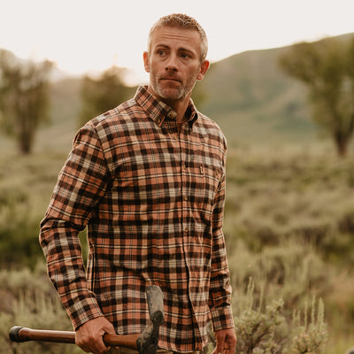 mens flannel shirts fairbanks santa fe hover