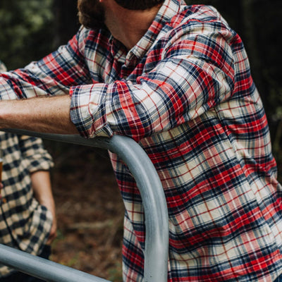 Fairbanks Flannel | Lodge Plaid