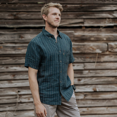 Miller Short Sleeve Shirt | Navy