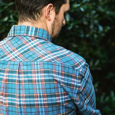 Montana Plaid Fairbanks Flannel Shirt
