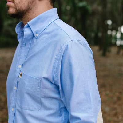 Montana Oxford Shirt with Reinforced Elbow Patches