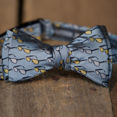 Southern Shades - Bow Tie - Steel Gray