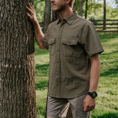 Rondon Short Sleeve Shirt | Olive